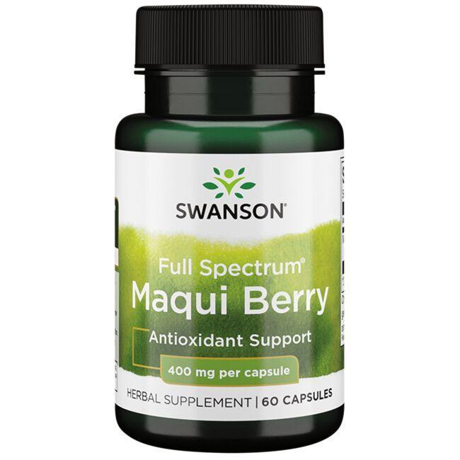 Swanson PremiumFull Spectrum Maqui Berry
