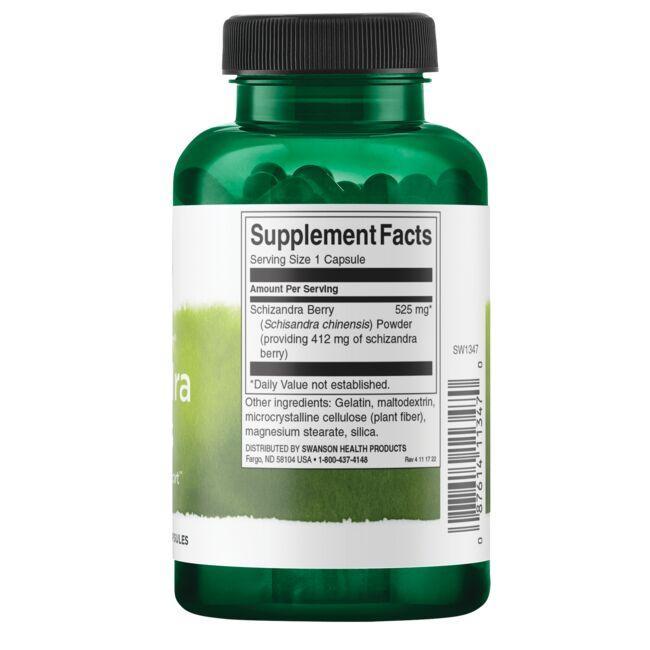 Swanson PremiumFull Spectrum Schizandra Berries Close Up
