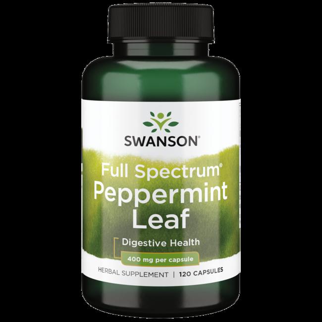 Swanson Premium Full Spectrum Peppermint Leaf