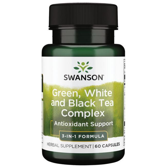Swanson PremiumGreen, White & Black Tea Complex