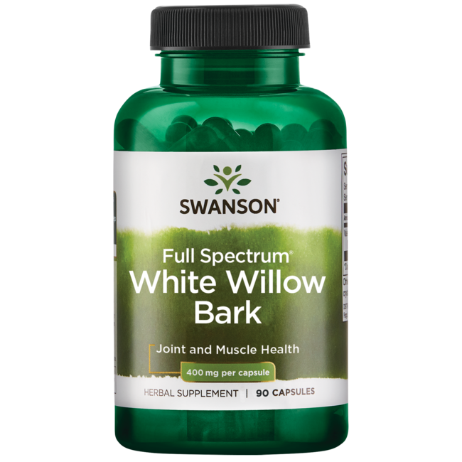 Swanson PremiumWhite Willow Bark