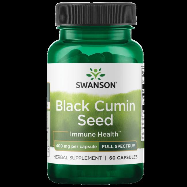 Swanson Premium Full Spectrum Black Cumin Seed