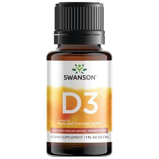 Swanson Premium Vitamin D3 - Higher Potency