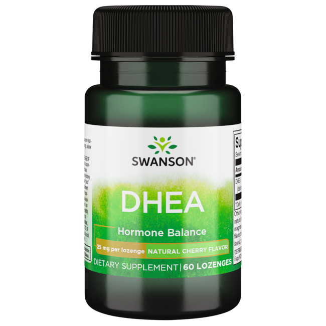 Swanson Premium Sublingual DHEA (Sugar-Free)