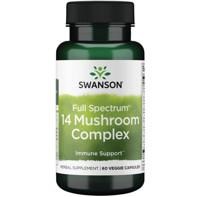 Swanson PremiumFull Spectrum 14 Mushroom Complex