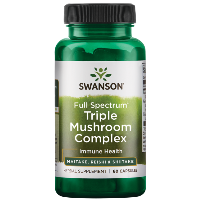Swanson PremiumFull Spectrum Triple Mushroom Complex