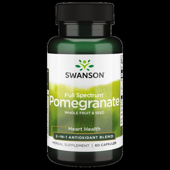 Swanson Premium Full Spectrum Pomegranate Whole Fruit & Seed