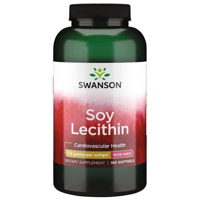 Swanson PremiumSoy Lecithin Non-GMO