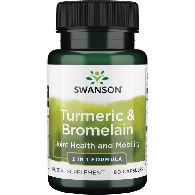 Swanson PremiumTurmeric & Bromelain