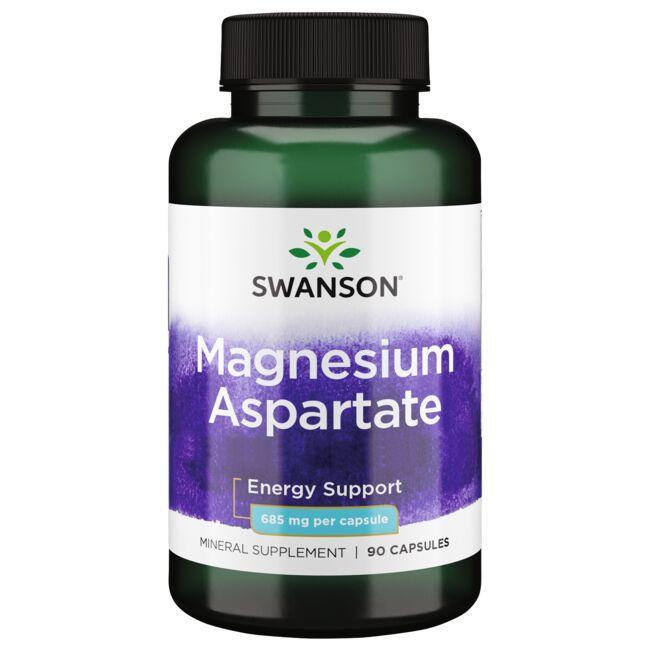 Swanson PremiumMagnesium Aspartate - 133 mg Elemental Magnesium