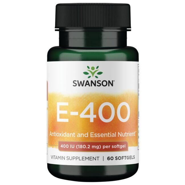Swanson PremiumVitamin E 400 IU