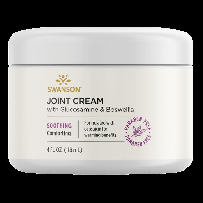 Swanson PremiumJoint Cream with Glucosamine & Boswellia