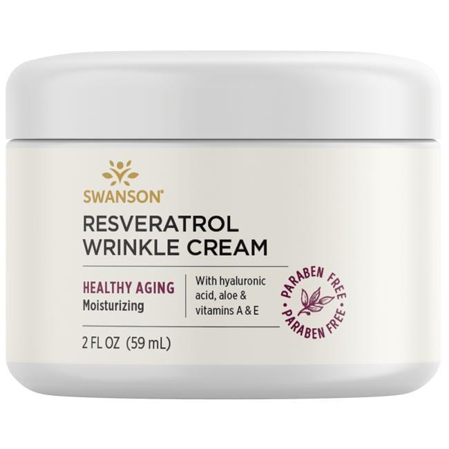 Swanson PremiumResveratrol Wrinkle Cream with Hyaluronic Acid