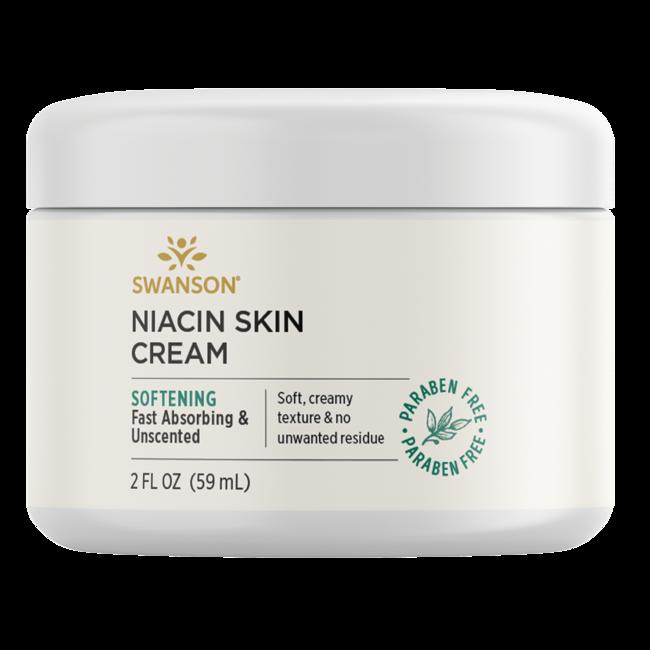 Swanson Premium Crema para la piel con niacina 96 % natural