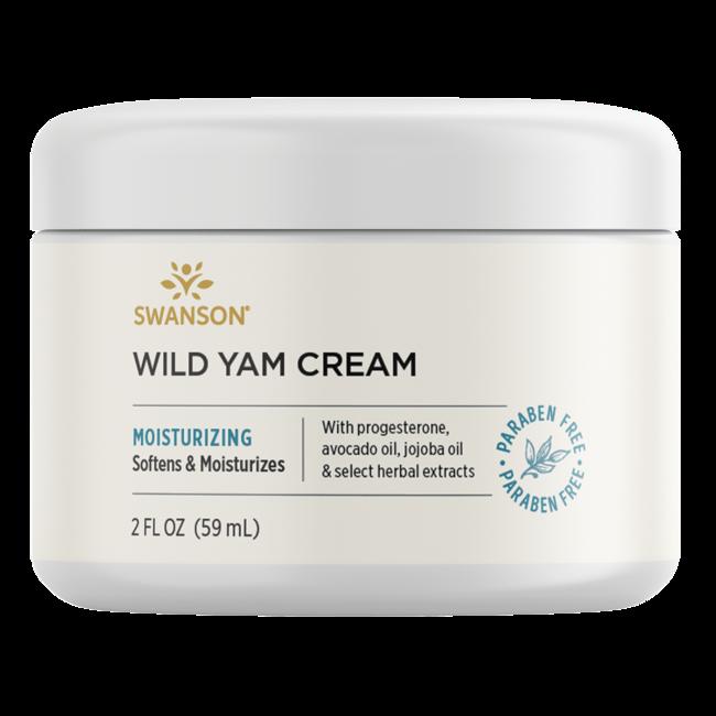 Swanson Premium Wild Yam Cream, 97% Natural