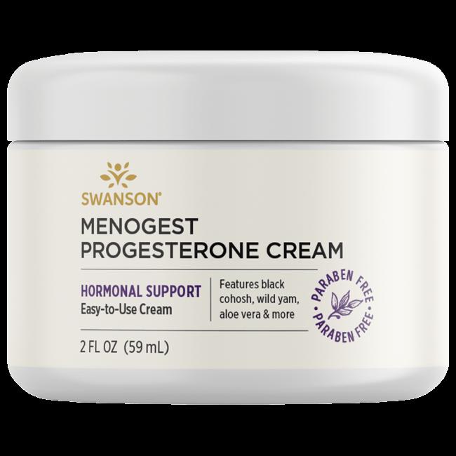 Swanson Premium Menogest Progesterone Cream, 97% Natural