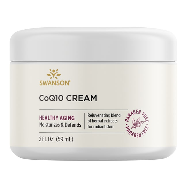 CoQ10 Cream, 975 Natural