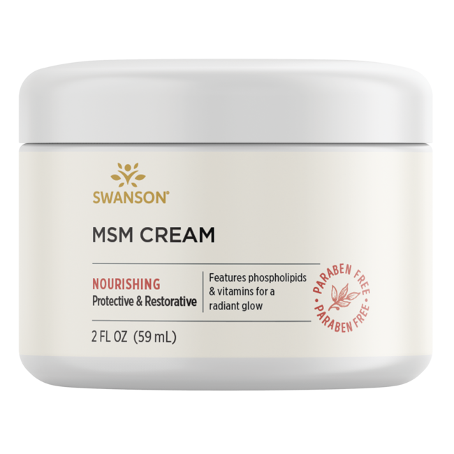 Swanson PremiumMSM Cream, 96% Natural
