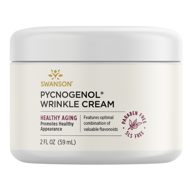 Swanson PremiumPycnogenol Wrinkle Cream, 97% Natural