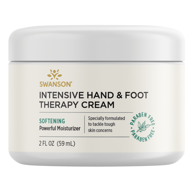 Swanson PremiumIntensive Hand & Foot Therapy Cream, 98% Natural