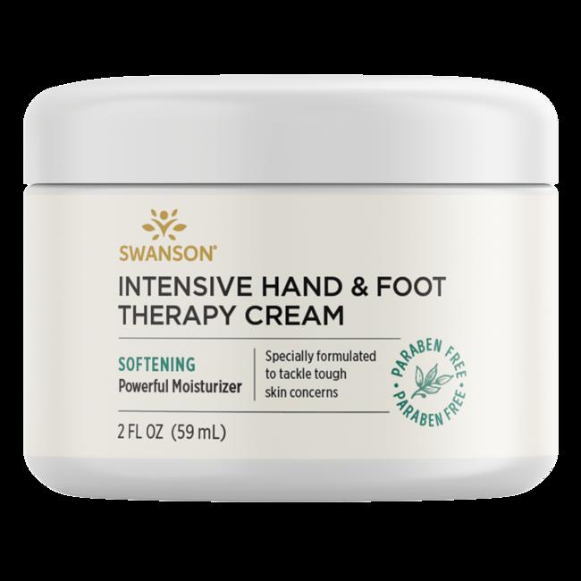 Swanson Premium Intensive Hand & Foot Therapy Cream, 98% Natural