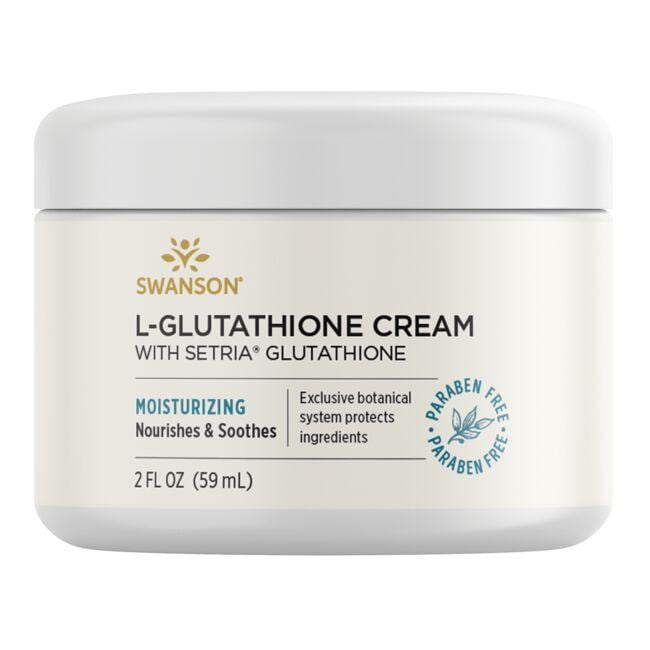 Swanson PremiumL-Glutathione Cream with Setria