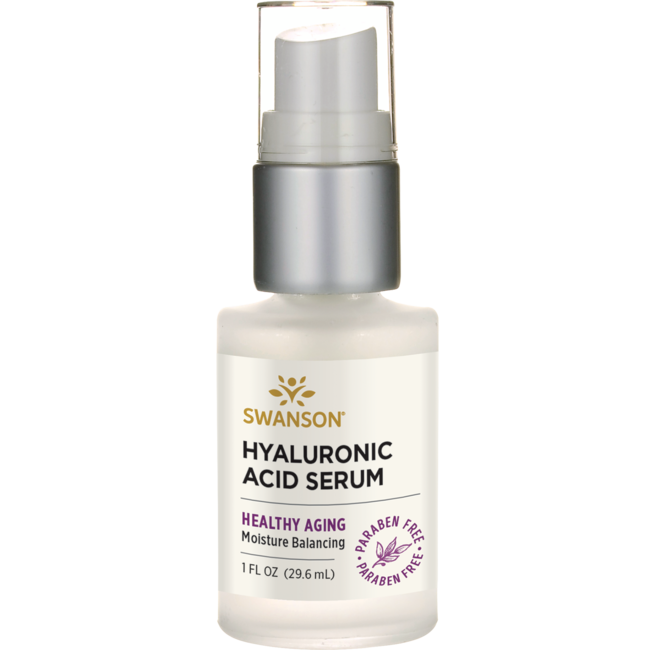 Swanson Premium99% Natural Hyaluronic Acid Serum