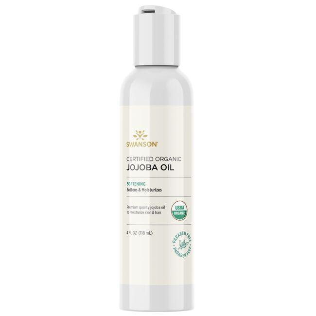 Swanson PremiumCertified Organic Jojoba Oil