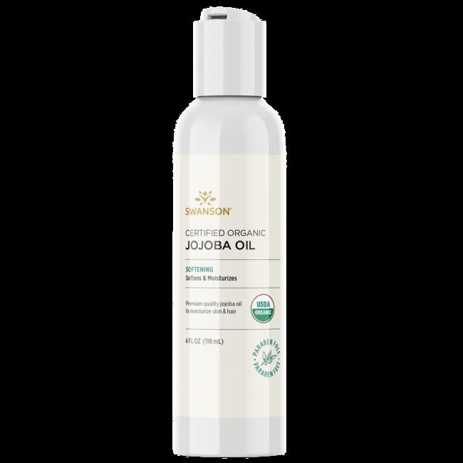 Swanson Premium Jojoba Oil, Certified Organic