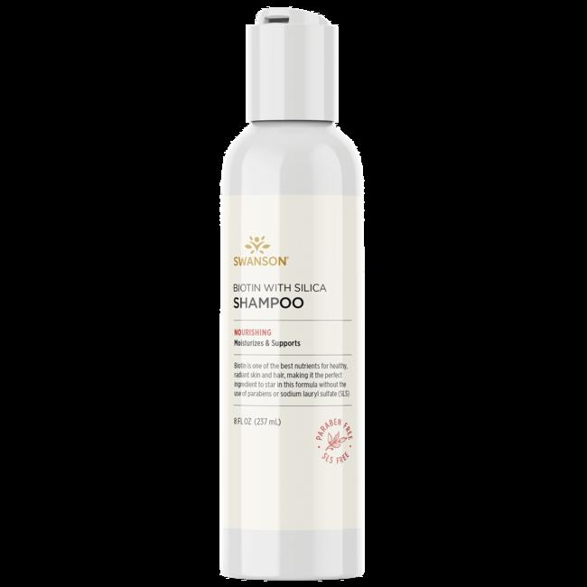 Swanson Premium Biotin Shampoo with Silica
