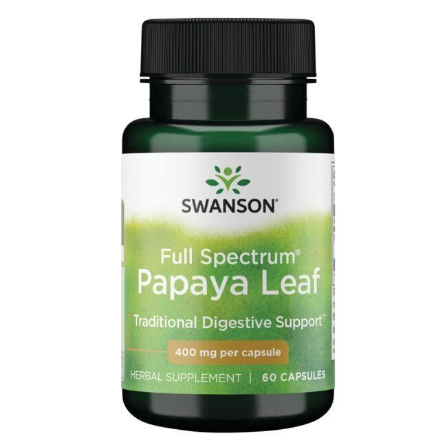 Swanson PremiumFull Spectrum Papaya Leaf