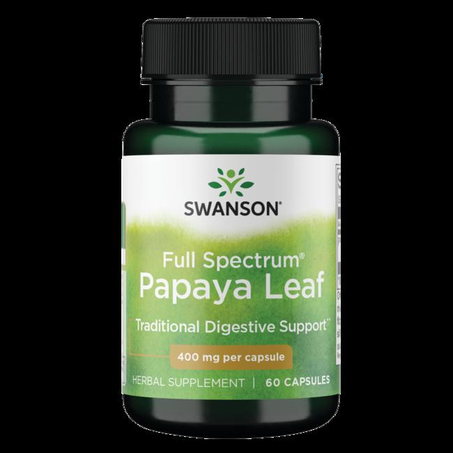 Swanson Premium Full Spectrum Papaya Leaf