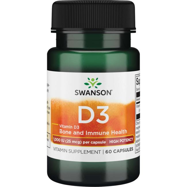 Swanson PremiumHigh Potency Vitamin D-3
