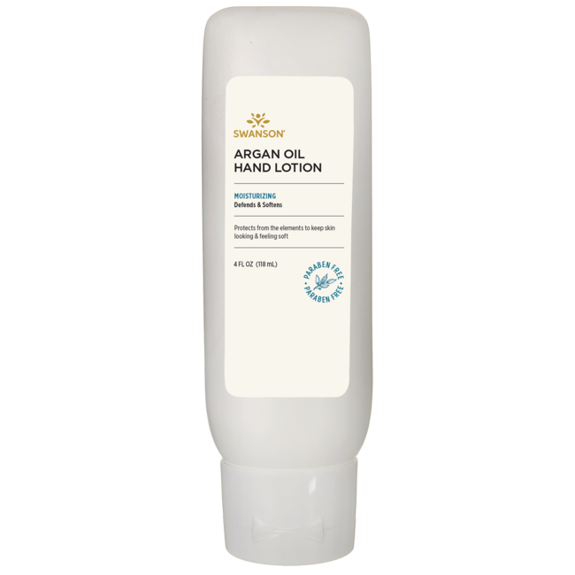 Swanson PremiumArgan Oil Hand Lotion