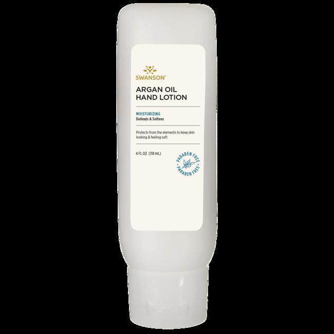 Swanson Premium 95% Natural Argan Oil Hand Lotion