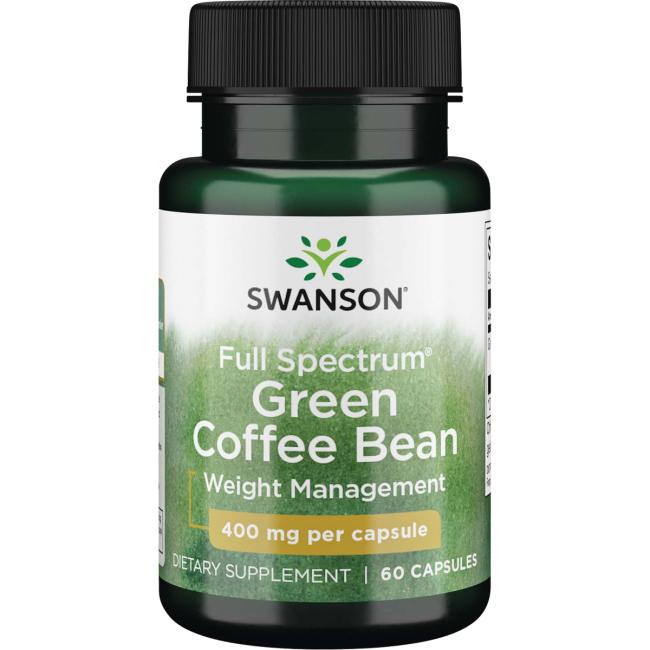 Swanson Premium Full Spectrum Green Coffee Bean