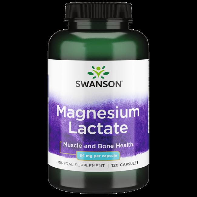 Swanson Premium Magnesium (Lactate)