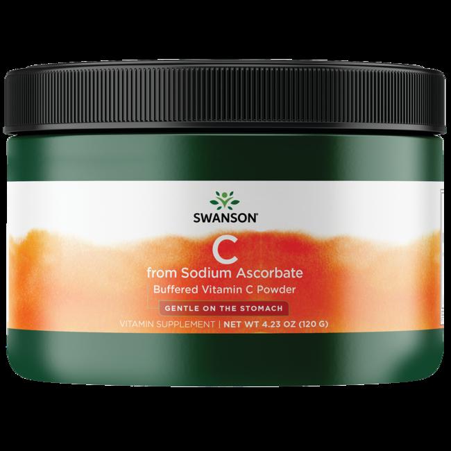 Swanson Premium Buffered Sodium Ascorbate Vitamin C Powder