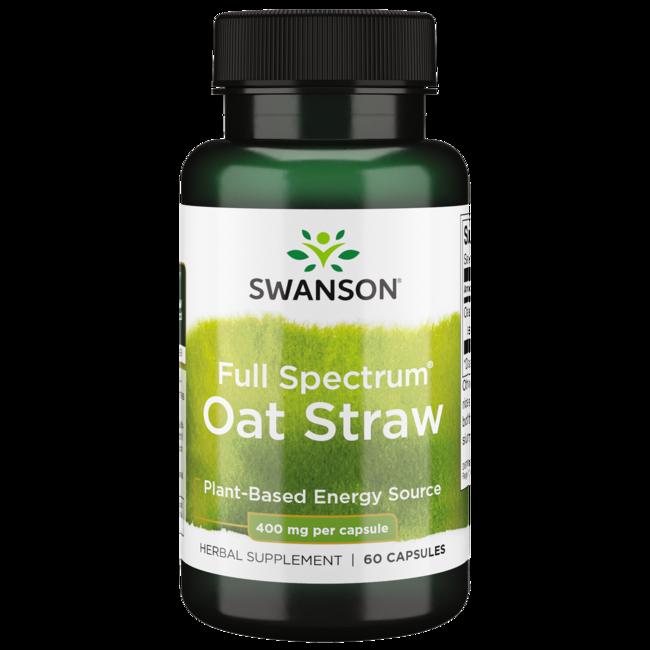 Swanson Premium Full Spectrum Oat Straw
