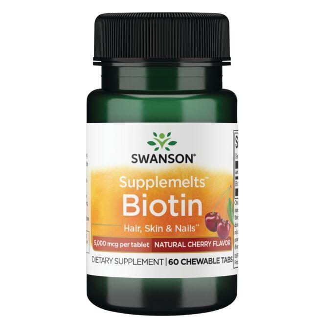 Swanson PremiumSupplemelts Biotin - Natural Cherry Flavor