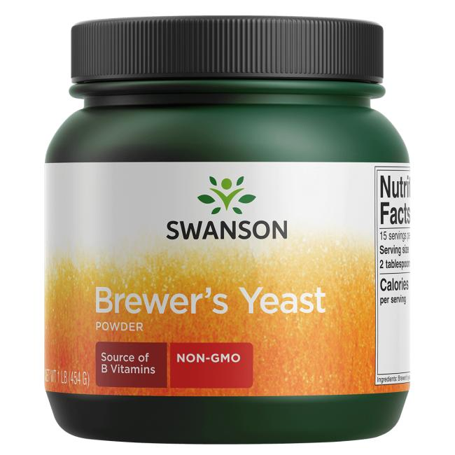 Swanson Premium Brewer's Yeast Powder - Non-GMO
