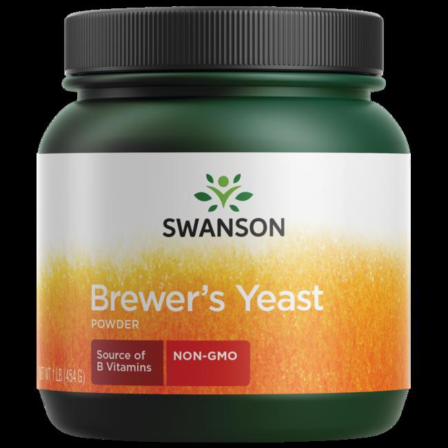 Swanson Premium 100% Pure Brewer's Yeast Powder GMO-Free