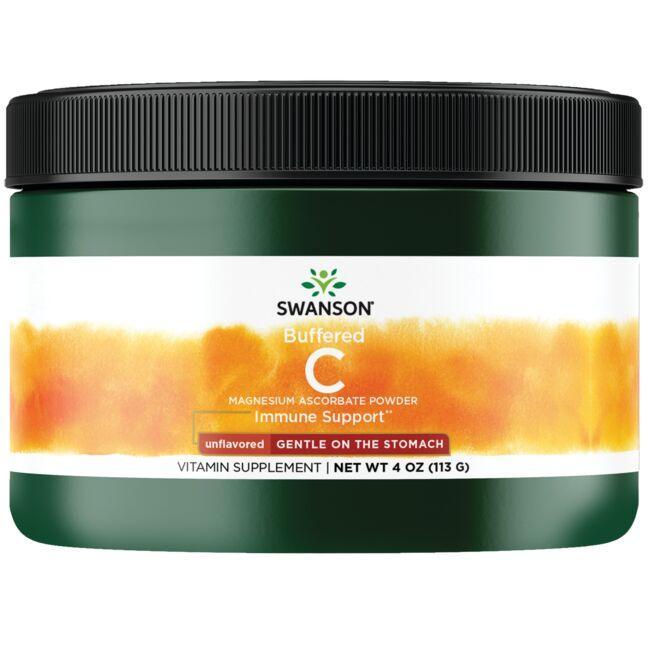 Swanson PremiumBuffered C Magnesium Ascorbate Powder - Unflavored
