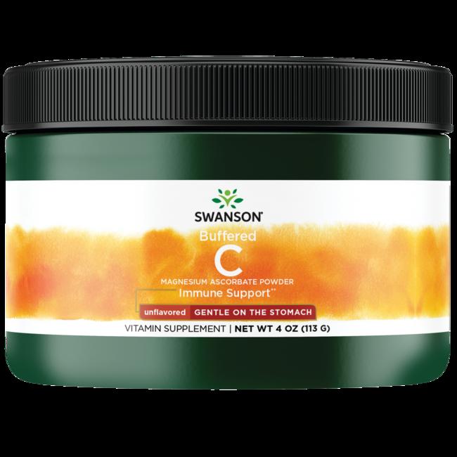 Swanson PremiumBuffered Magnesium Ascorbate Vitamin C Powder