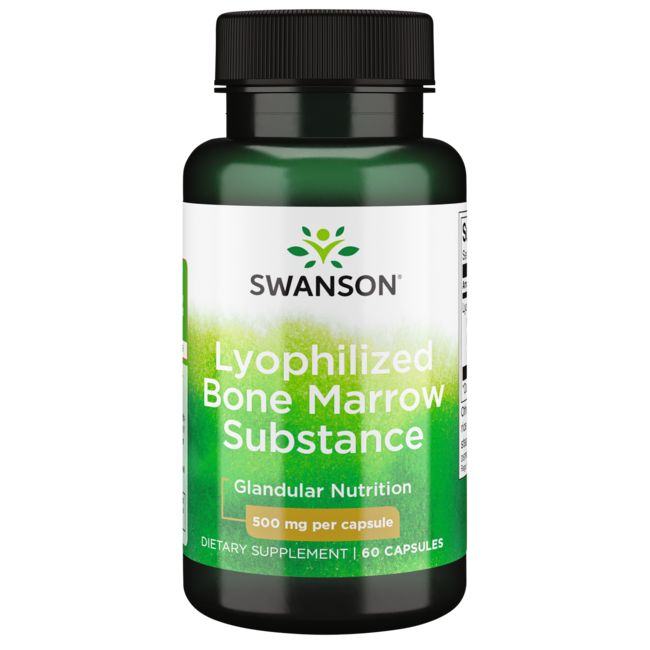 Swanson PremiumRaw Lyophilized Bone Marrow Substance