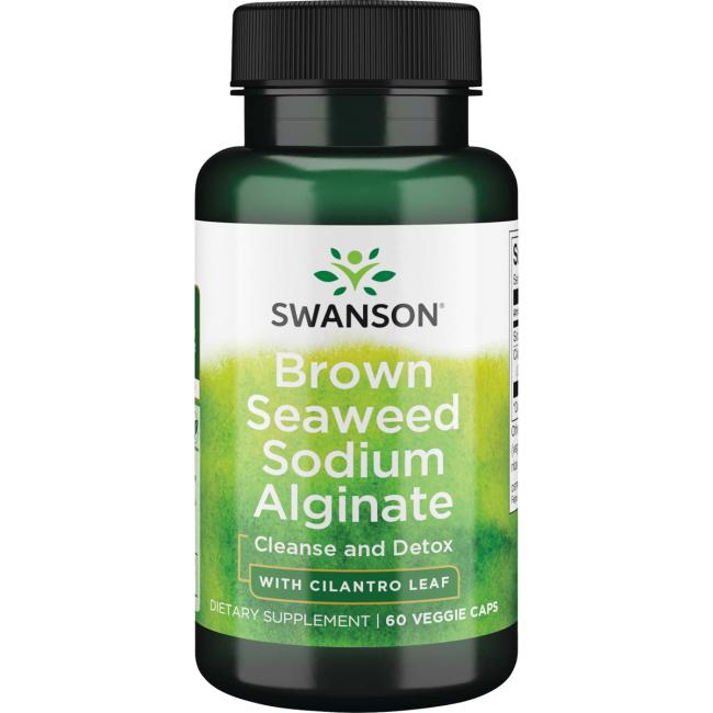Swanson Premium Brown Seaweed Sodium Alginate