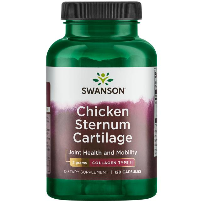Swanson PremiumChicken Sternum Cartilage - Collagen Type II