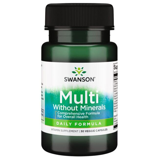 Swanson PremiumDaily Multivitamin without Minerals