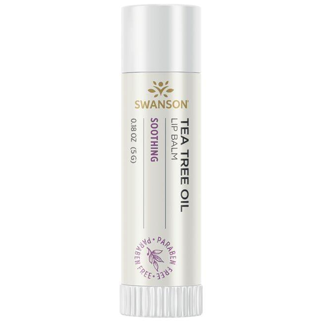 Swanson PremiumTea Tree Oil Lip Balm