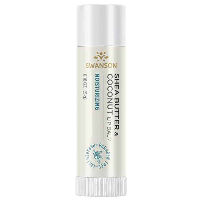 Swanson PremiumShea Butter & Coconut Lip Balm